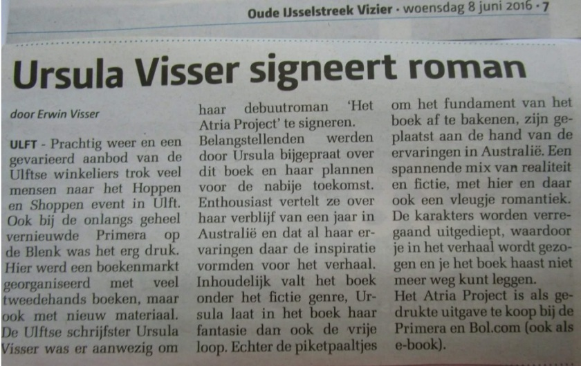 krant iets groter