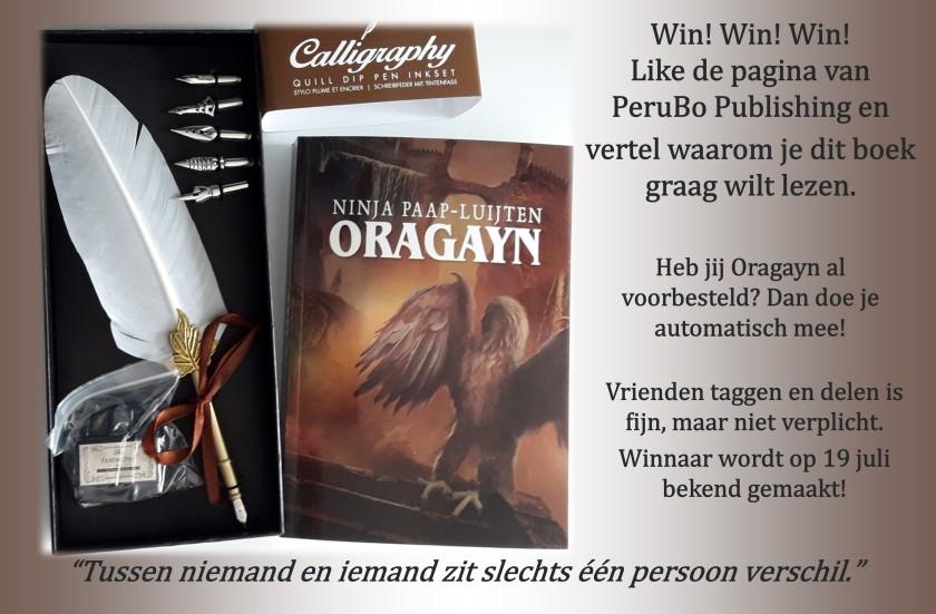 Oragayn lancering prijsvraag juli 2019